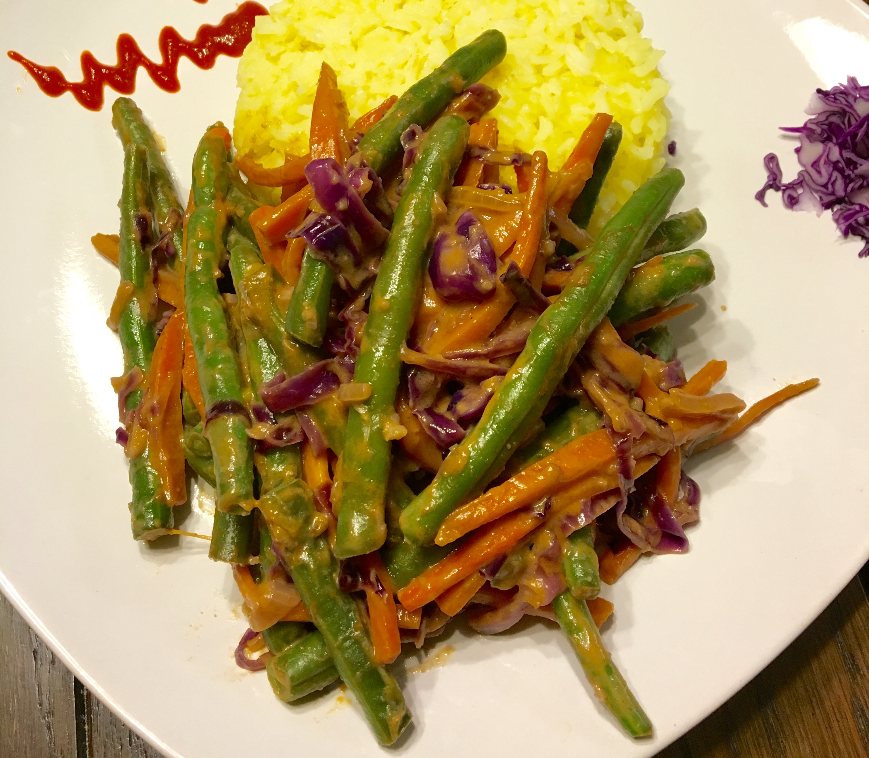 LYVL Challenge] Veggies in a Spicy Thai Peanut Sauce -