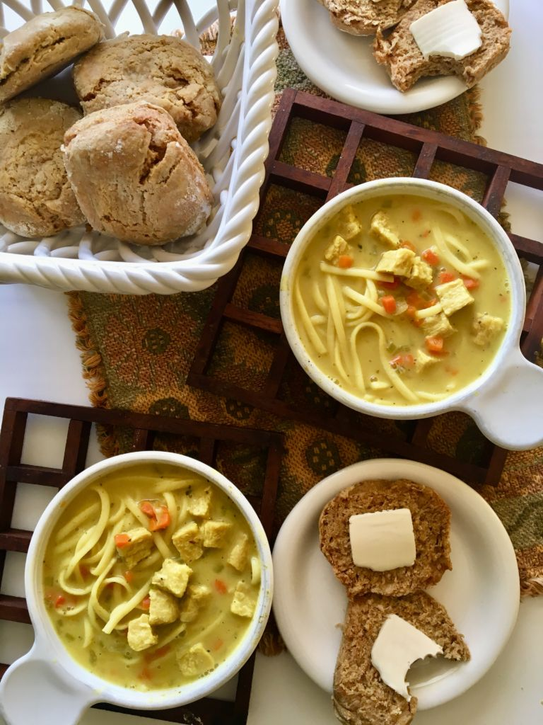 The BEST Vegan Chicken Noodle Soup - easy, healthy, and dead-on flavor! recipe @ plantpowercouple.com