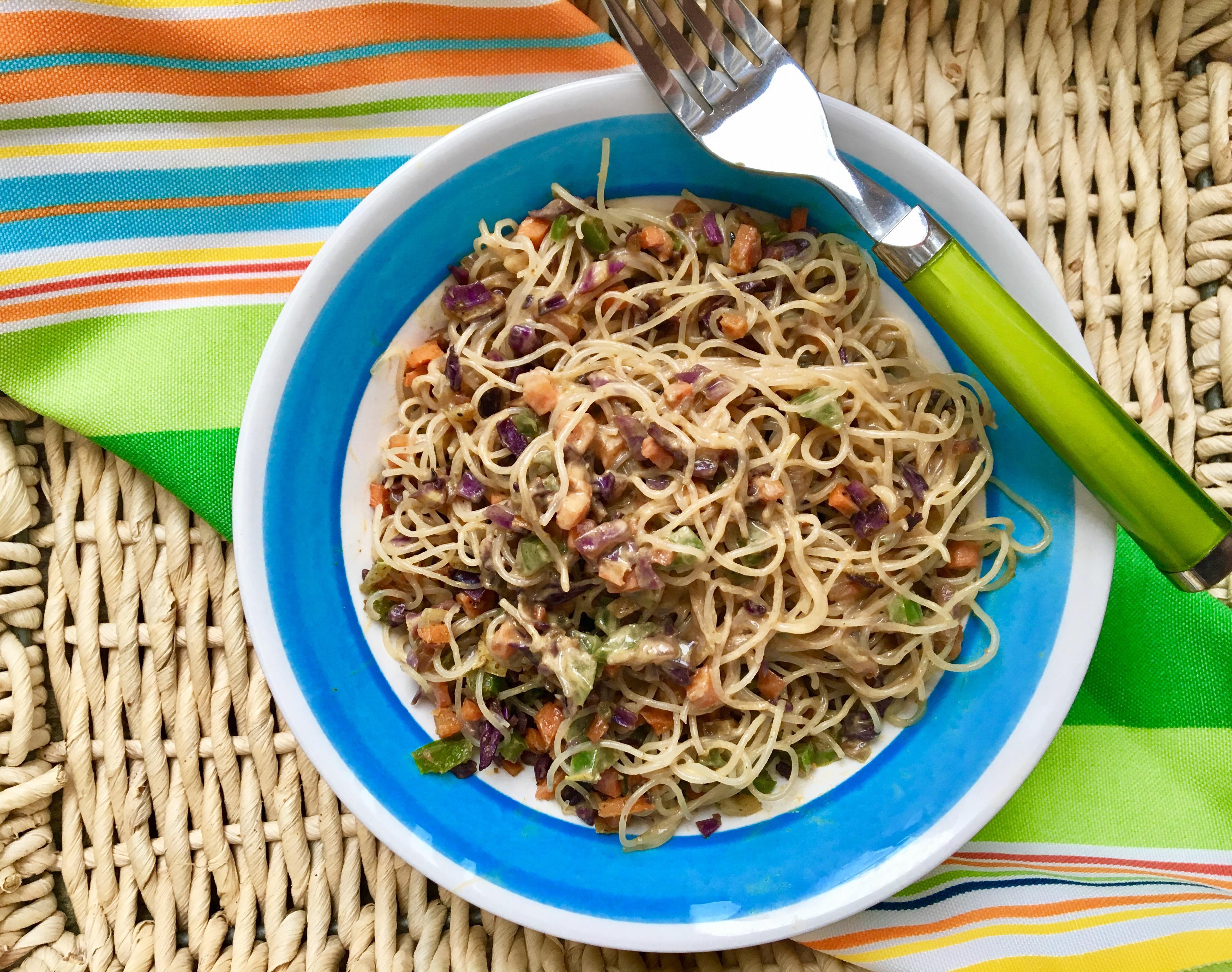 Chilled Thai Noodle Salad - Plant Power Couple