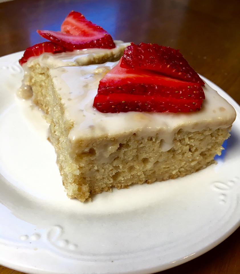 Vegan Tres Leches Cake - recipe by yupitsvegan.com
