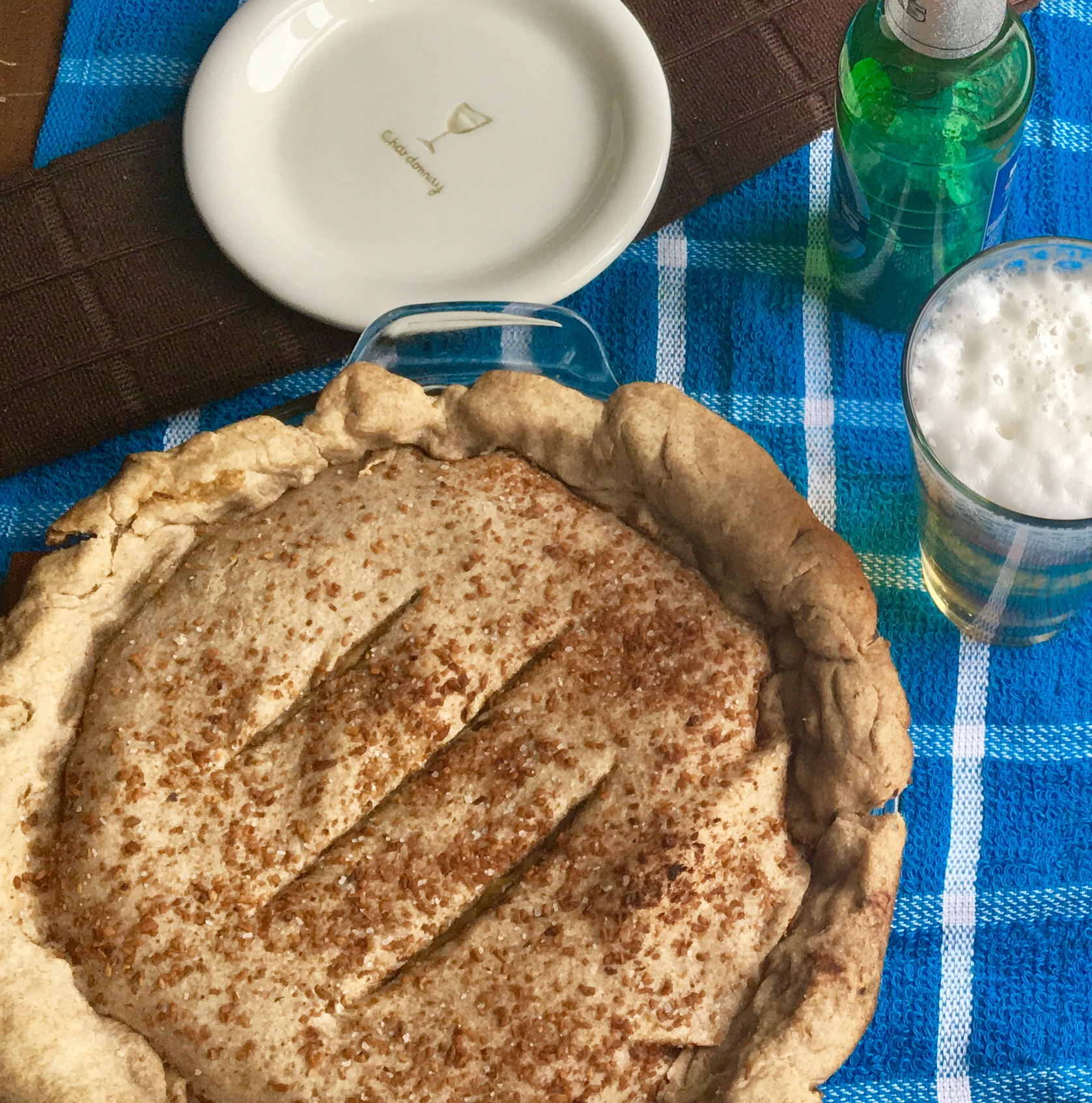 Bac'n Beer & Mushroom Pie - vegan and DELICIOUS @ plantpowercouple.com