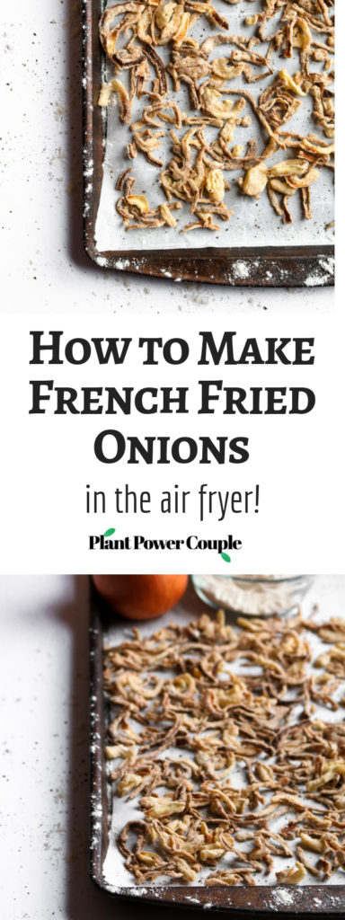Air Fried Onions Easy Homemade Vegan Healthy Er