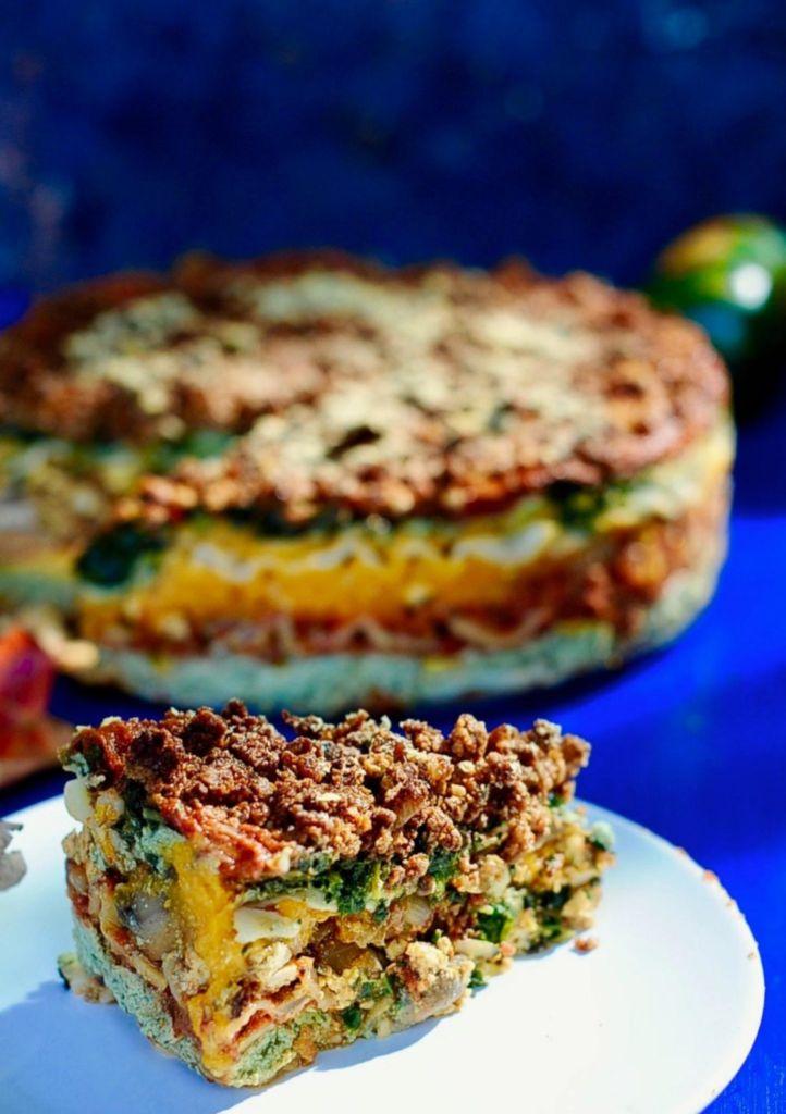 10 (Vegan) Ways to Get Your Greens That Aren't Salad or Gross: Vegan Lasagna by Sunnyside Hanne