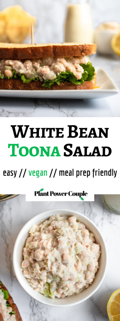 Vegan Tuna Salad Made With White Beans By Plant Power Couple