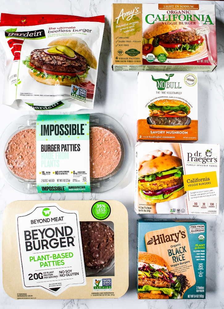 This is your guide to the best vegan burgers in the world! From homemade burger recipes to our picks for the best vegan burgers you can buy in a store or while on the road, we'll talk about our favorite options for the two different types of plant-based burgers (meaty vegan burgers vs. veggie burgers). Our goal with this vegan burger guide is to get you ready for one seriously delicious burger season, in full plant-based style!